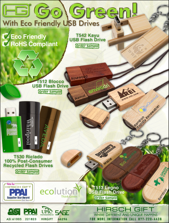 <b>Eco USB Drives